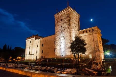 The museum building in the Italian city Riva del Garda Editorial