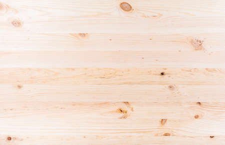 Texture unpainted pine boards knotted