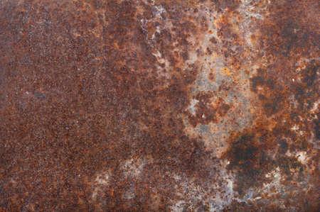 Oude roestige ijzeren bevlekte achtergrond