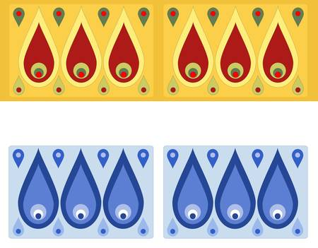 byzantine: Russian simple pattern