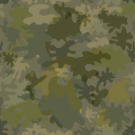 Militaire naadloze achtergrond Stock Illustratie