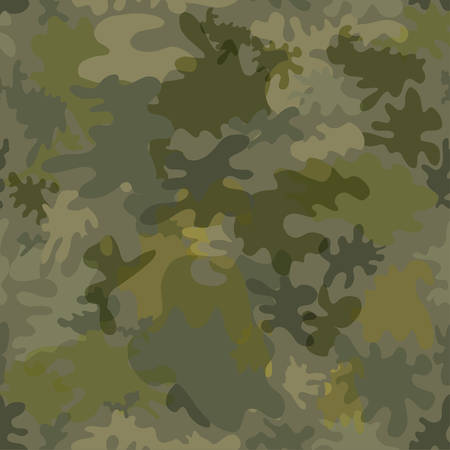 Military seamless background  Illustration