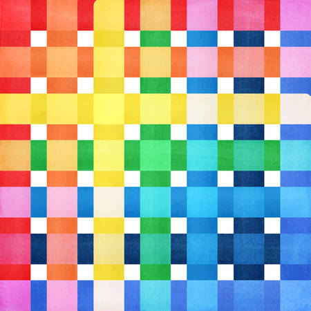 Checkered colorful background