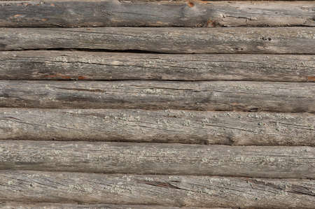 Old wooden house wall background