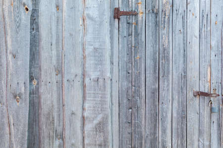 not painted: Not painted wooden door on the wall background