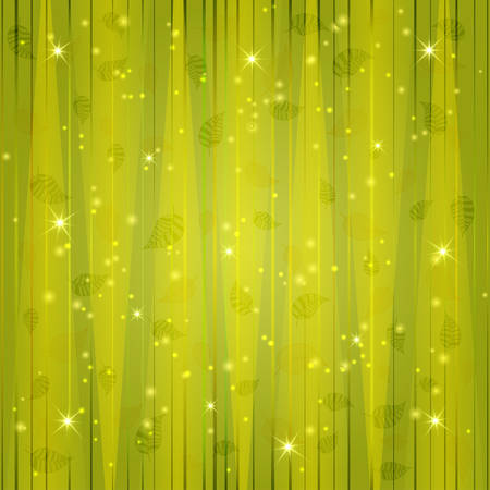 Abstract spring background in green tones vector Illustration