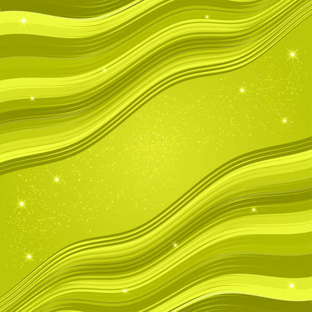 Abstract wavy green background vector. Good for your templates and business cards.