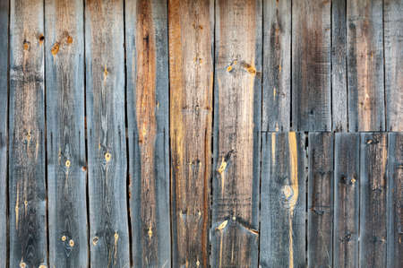 not painted: Not painted the fence of the old wooden planks background
