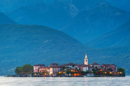 fishermens: Evening view of the Fishermens Island. Italy.