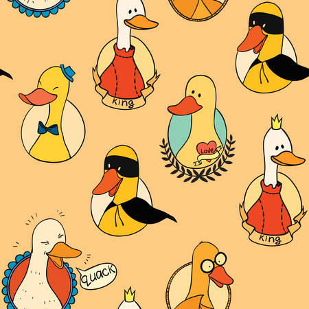 geese: Pattern with six geese