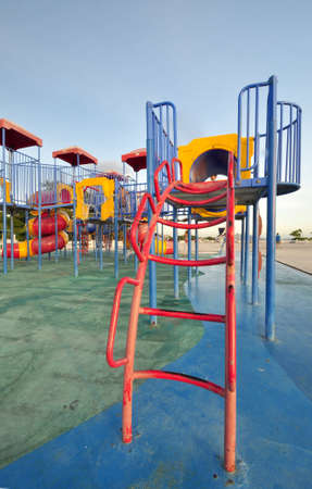 playgrounds at park Stock Photo - 14962482