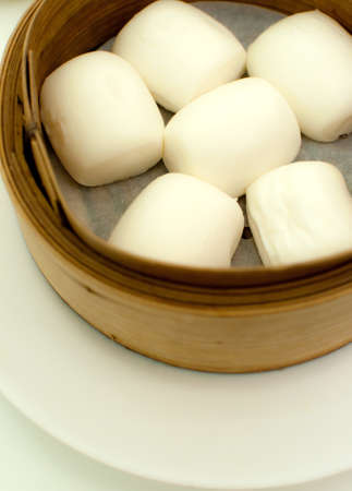steamed chinese bun Stock Photo