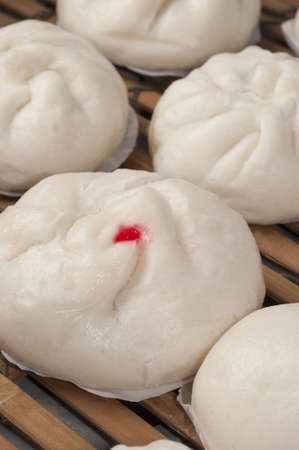 steamed chinese bun photo