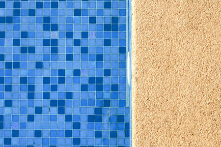 blue and vibrant swimming pool side Stock Photo - 16230251