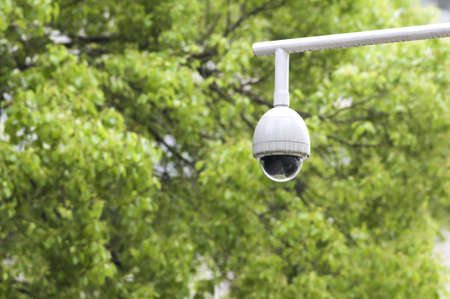 Security surveillance camera in the park Stock Photo - 18619788