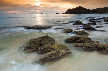 Beautiful seascape, Koh Lanta, Krabi, Thailand photo