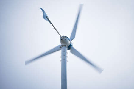 Movement wind turbine with copyspace photo