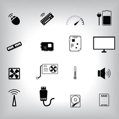 ddr: Computer part icon ste