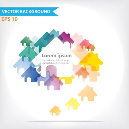 Colorful vector design for workflow layout, diagram, number options, web design, infographics Stock Vector - 21546743