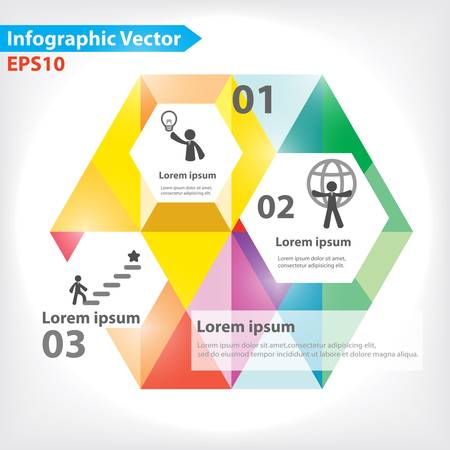 business process: Colorful vector design for workflow layout, diagram, number options, web design, infographics