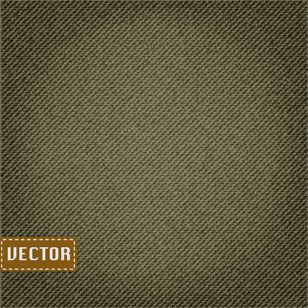 Clean khaki fabric texture,vector EPS10