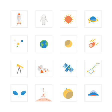 ursa: Space and astronomy icons