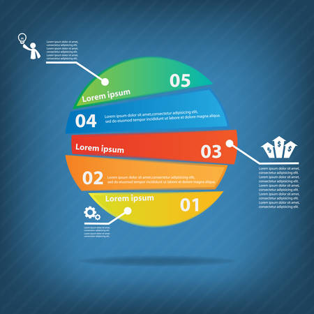 colour chart: Colorful vector design for workflow layout, diagram, number options, web design, presentation template, infographics.