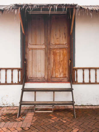 melacca: Melacca river side home door style