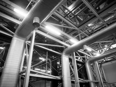 Air Ventileren buis in de bouw