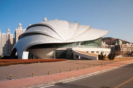 Dalian, China January 19, 2015: Dalian Shell Museum At Xinghai Square. It