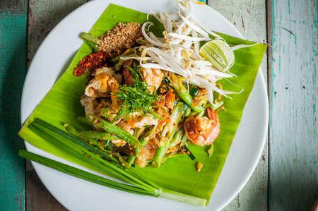 stir fried: Padthai, Stir fried Thai noodle style.