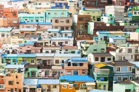 south korea: Gamcheon Culture Village, Busan, South Korea.