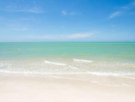sea wave: Summer sea wave and beach