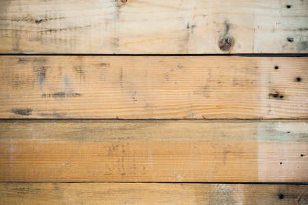 Dirty used pine wood background texture. photo