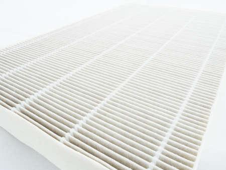 filtración: Purificador de aire de reemplazo de filtro. Foto de archivo