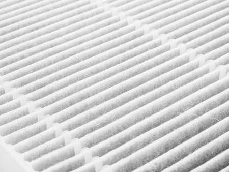 Air purifier filter replacement. Foto de archivo