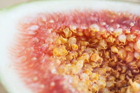 purgative: Fresh figs close up. Stock Photo