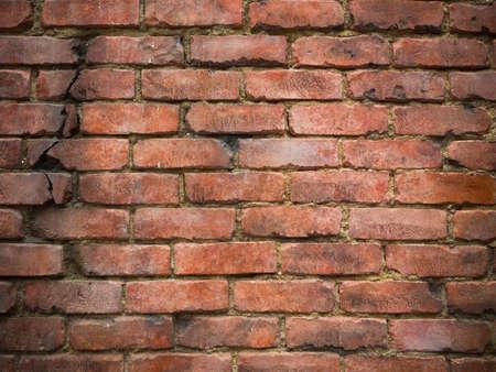 ladrillo: Antiguo muro de ladrillo textura de fondo
