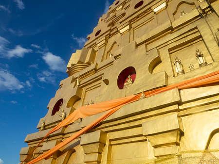 bodhgaya: Bodhgaya Stupa at Kanchanaburi, Thailand.