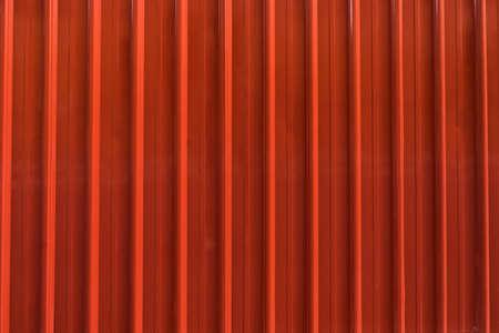 corrugation: Red metal sheet background