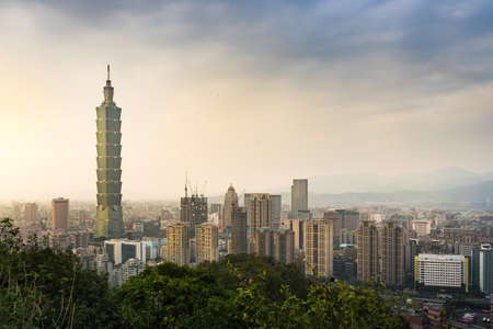 ranked: TAIPEI, TAIWAN - March 04, 2016 : Taipei 101 . The building ranked worlds tallest from 2004 until 2010.