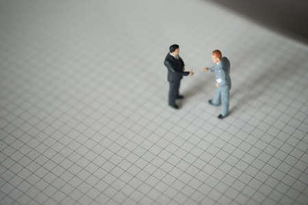 westerner: Business partner concept. Businessmen talking togather Stock Photo