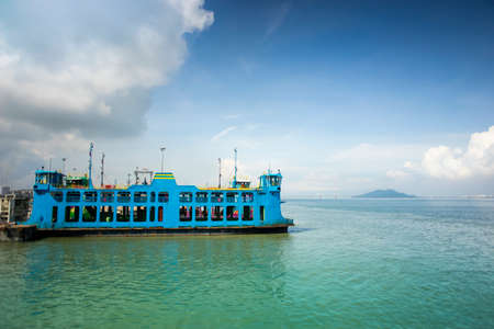 Ferry from Butterworth to Penang, Malaysia