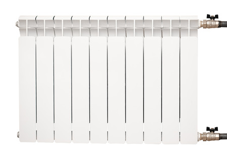 radiator isolated over white background