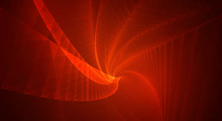 Abstract 3d vector background. space flashes, tunnel and whirlwinds.