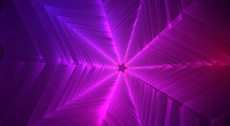 Abstract 3d vector background. space flashes, tunnel and whirlwinds. Vecteurs