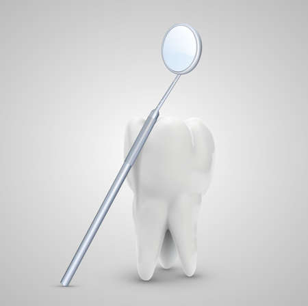 vector molar tooth. beauty and health. tooth cleaning and personal care, dentist tools
