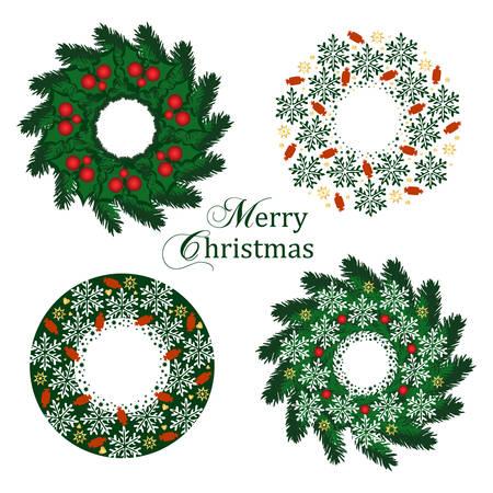 guirnaldas de navidad: Coronas de Navidad