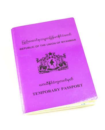on temporary: republic of the Union of myanmar temporary passport