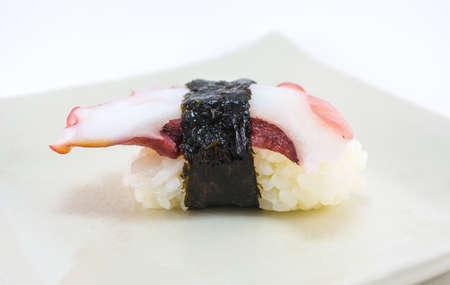 octopus sushi photo